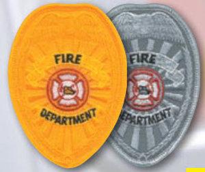 Fire Dept Shield Patch-