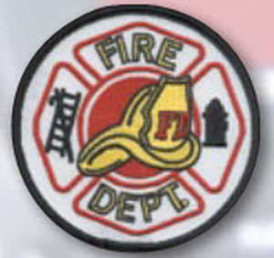 "3 1/2"" Fire Dept. Circle W/Helmet-"