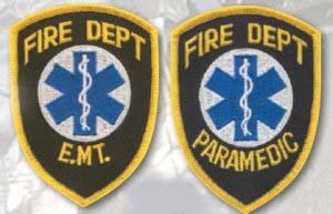 Fire Department Emblem Shields-