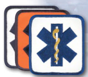"27/8 "" X 3"" Staff Of Life Rectangle-Premier Emblem"
