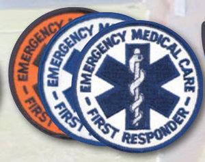 "3.5"" Staff Of Life Circle-Premier Emblem"