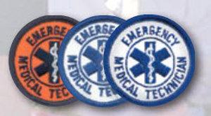 "2"" Staff Of Life Circle-Premier Emblem"