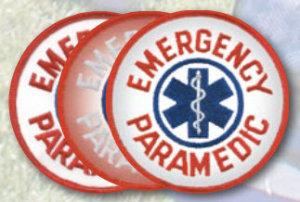 "4"" Paramedic Circle-Premier Emblem"