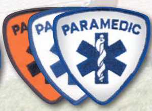 "3.5"" Staff Of Life Shield - Paramedic-Premier Emblem"