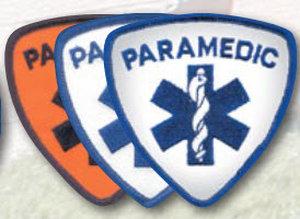 "3.5"" Staff Of Life Shield - Paramedic-"
