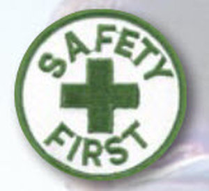 SAFETY FIRST-Premier Emblem