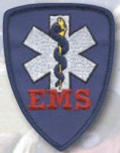 "2 7/8"" X 3 1/2"" EMS Shield-Premier Emblem"