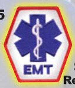 EMT - Reflective-Premier Emblem