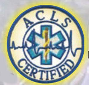 ACLS Certified - Reflective-