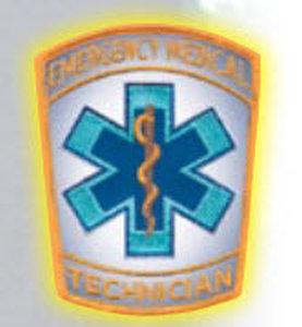 "4"" Staff Of Life - Reflective-Premier Emblem"
