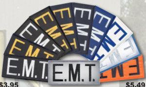 """2"""" X 4"""" E.M.T. Patch-Premier Emblem"""
