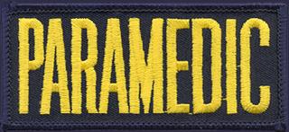 """2"""" X 4"""" Paramedic Patch-Premier Emblem"""