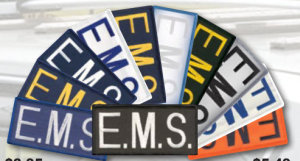 """2"""" X 4"""" E.M.S. Patch-Premier Emblem"""