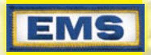 """1"""" X 3"""" E.M.S. Patch-Premier Emblem"""