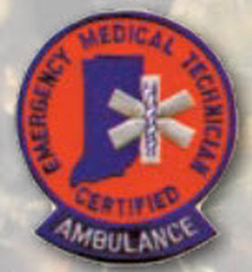 Certified EMT Ambulance Patch-Premier Emblem