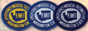 Washington Emergency Medical Emblems-