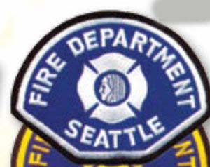 Seattle Paramedic patch-