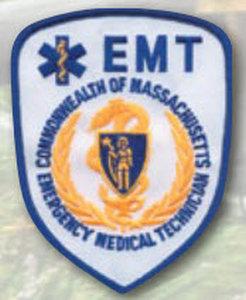 Massachusetts EMT Emblems-Premier Emblem