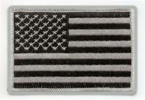"2 1/4"" X 3 1/2"" American Flags"