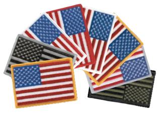 "2"" X 3 1/2"" American Flag-Premier Emblem"