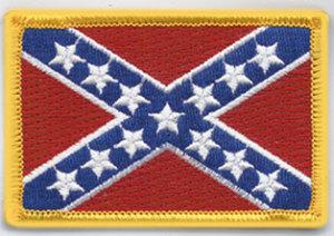"""2"""" X 3 1/4"""" CONFEDERATE State Flag-"""