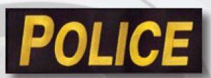 """3""""X 9"""" Police Patch-Premier Emblem"""