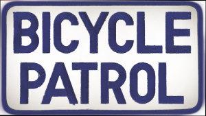 "5"" X 9"" Bicycle Patrol-Premier Emblem"