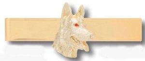 K-9 Dog Head Tie Bar-