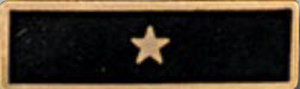 Enameled 1 Star Black-Premier Emblem
