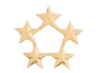 """3/8"""" Cluster Stars-Premier Emblem"""