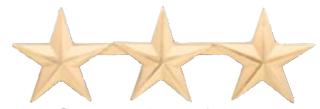 """3/4"""" Smooth Stars-Premier Emblem"""