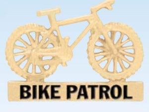 Bike Patrol Cutout-Premier Emblem
