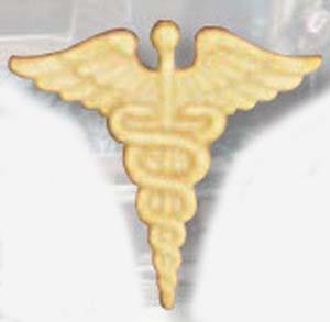 Caduceus Collar Devices-Premier Emblem