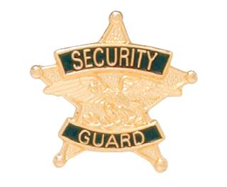 Security Guard Tie Tac-