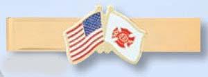 Fire/EMT Tie Bar-Premier Emblem