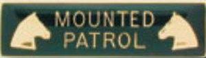 Mounted Patrol-