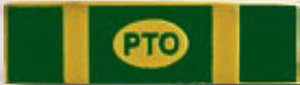 POLICE TRAINING OFFICER - 1 3/8 x 3/8-