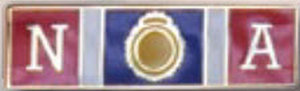 FBI NATIONAL ACADEMY - 1 3/8 x 3/8-Premier Emblem