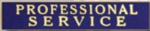 PROFESSIONAL SERVICE-Premier Emblem