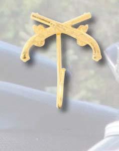 Crossed Pistol Hook-