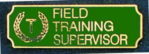 Field Training Supervisor-Premier Emblem