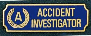Accident Investigator-Premier Emblem