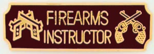 Firearms Instructor-Premier Emblem