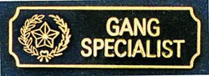 Gang Specialist-Premier Emblem