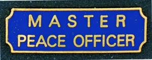 Master Peace Officer-Premier Emblem