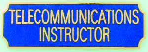 Telecommunications Instructor-