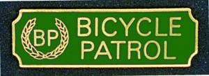 Bicycle Patrol-Premier Emblem