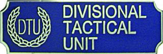 Divisional Tactical Unit-