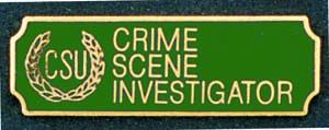 Crime Scene Investigator-Premier Emblem