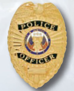 Police Officer Badge-Premier Emblem